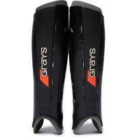Mens Black Grays G600 Hockey Shin Guards