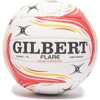 Mens Red Gilbert Flare Netball Match Ball