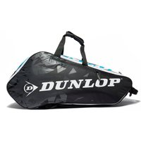 Mens Black Dunlop Tour 2.0 X10 Racket Bag