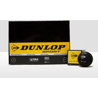 Mens Black Dunlop Pro Squash Balls (12 Ball Box)