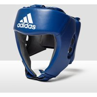 Mens Blue Adidas Aiba Licensed Boxing Head Guard