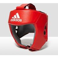 Mens Red Adidas Aiba Licensed Boxing Head Guard
