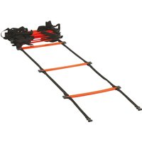 Mens Black Gilbert Rugby Speed Ladder