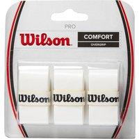 Mens White Wilson Pro Overgrip (3 Per Pack)