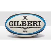 Mens White Gilbert Omega Rugby Ball