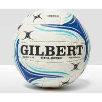 Womens White Gilbert Eclipse Match Netball