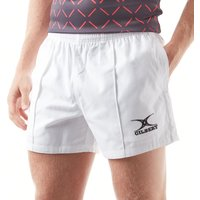 Mens White Gilbert Kiwi Pro Rugby Shorts
