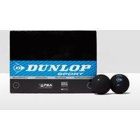 Mens Black Dunlop Intro Squash Balls (12 Ball Box)