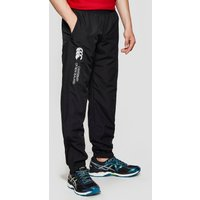 Black Canterbury Junior Cuffed Hem Stadium Pants, Black
