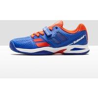 Babolat Junior Propulse All Court Tennis Shoes - blue/orange, blue/orange