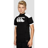Black Canterbury Vapodri Raze Pro Junior Body Armour Vest