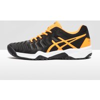 ASICS GEL-RESOLUTION 7 Junior Tennis Shoes - black/orange, black/orange