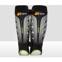 Mens Black Grays G800 Hockey Shin Guards