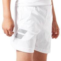 Babolat Core Junior Shorts - white, white