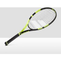 "Black Babolat Pure Aero 26"" Junior Tennis Racket, Black"