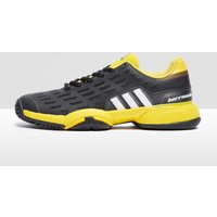 adidas Barricade Junior Tennis Shoes - black/yellow, Black