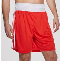 Men's adidas Base Punch Boxing Shorts - Red, Red