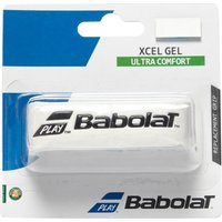 Mens White Babolat Xcel Gel Replacement Grip