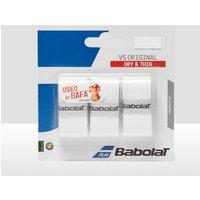 Mens White Babolat Vs Original Overgrip (3 Per Pack)