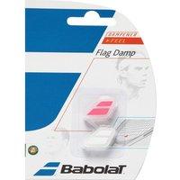 Mens Pink Babolat Flag X2 Tennis Racket Dampener
