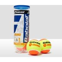 Mens Orange Babolat Orange Tennis Balls (3 Ball Can)