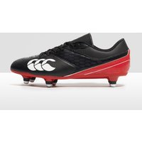 Black Canterbury PHOENIX RAZE SG Junior RUGBY BOOTS, Black