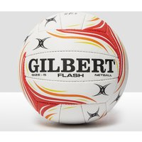 Mens White Gilbert Flash Match Netball