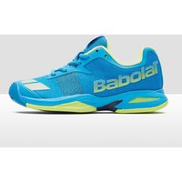 Babolat Jet All Court Junior Tennis Shoes - Blue/Yellow, Blue/Yellow