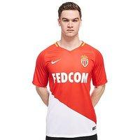 Nike AS Monaco 2017/18 Home Shirt - Red - Mens