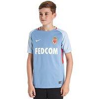 Nike AS Monaco 2017/18 Away Shirt Junior - Blue - Kids