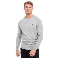 Original Penguin Crew Neck Sweater - Grey - Mens