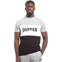 Duffer of St George Eckford T-Shirt - Grey - Mens