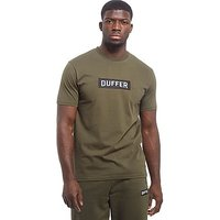 Duffer of St George Logo T-Shirt - Khaki - Mens