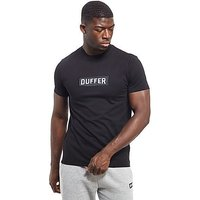 Duffer of St George Logo T-Shirt - Black - Mens