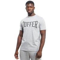 Duffer of St George Blenheim T-Shirt - Grey/Black - Mens