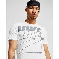Nike Futura Outline T-Shirt - White/Grey/Black - Mens