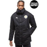 adidas Scotland FA 2018 Parka Jacket - Black - Mens