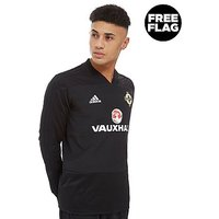 adidas Northern Ireland 2018 Training Top - Black - Mens
