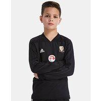adidas FA Wales 2018 Training Top Junior - Black - Kids