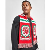 Official Team Wales Jacquard Scarf - Red - Mens