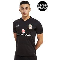 adidas FA Wales 2018 Training Shirt - Black - Mens