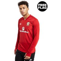 adidas FA Wales 2018 Training Top - Red - Mens
