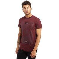 McKenzie Hendo T-Shirt - Burgundy - Mens