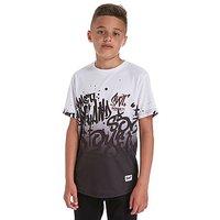 Sonneti Tagged T-Shirt Junior - White/Black - Kids