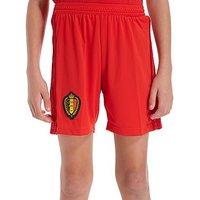 adidas Belgium 2017/18 Home Shorts Junior - Red - Kids