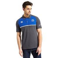 Canterbury Leinster Training Polo Shirt - Asphalt/ Blue - Mens