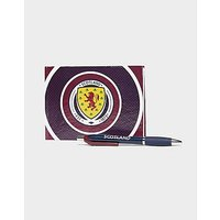 Official Team Scotland FA Autograph Book - Maroon - Mens