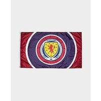 Official Team Scotland FA Bullseye Flag - Navy/Burgundy - Mens