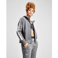 Under Armour Panel Fleece Hoodie - Grey/White - Womens