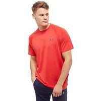Under Armour Tech T-Shirt - Red - Mens